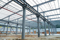 High Strength Bolt Prefabricated Steel Structure Building For Garage-For Hangar