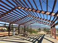 Metal Garage Prefab Steel Structure