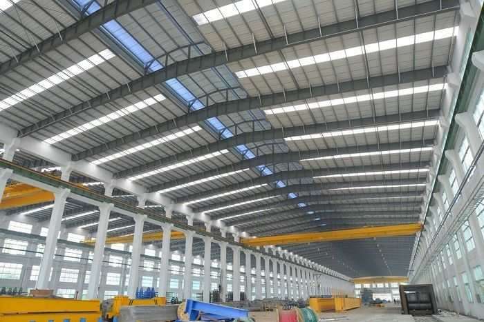Alkyd Paint Tubular Steel Structures With AWS , BS , EN , ISO Certificate
