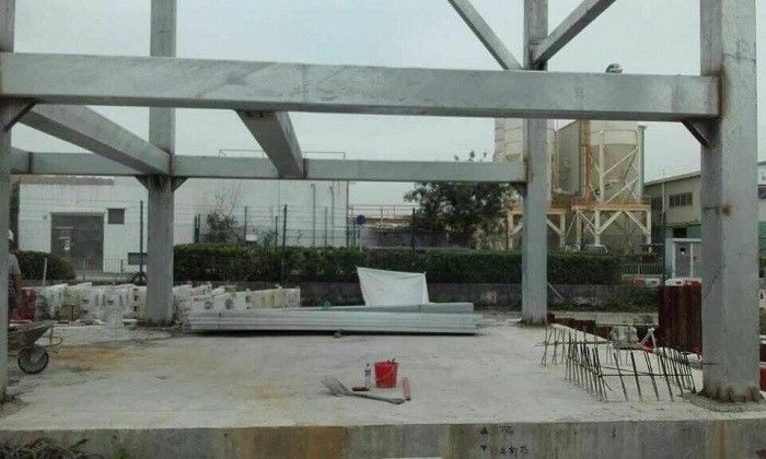 Prefabricated Warehouse Steel Structure Construction With BS EN Standard