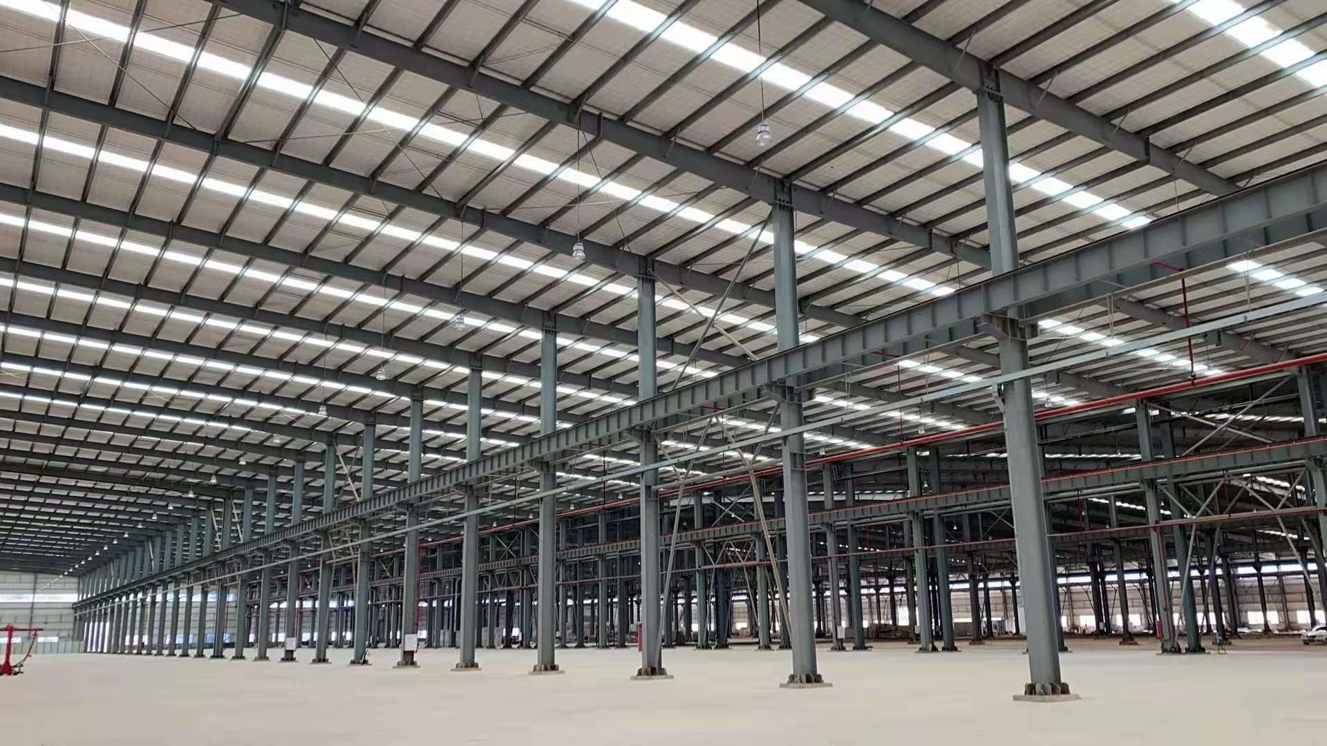 Economical Warehouse Steel Structure Bolt Connection Normal Painting